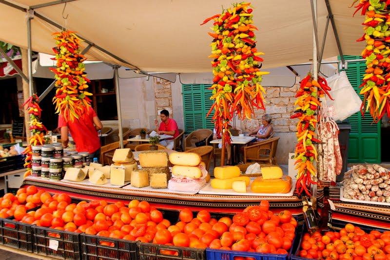 Il mercato di Santanyí