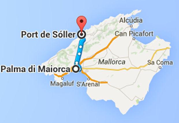 Il porto naturale di s ller isola di maiorca for Palma de maiorca dove soggiornare