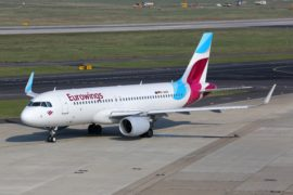 Palma prima base di Eurowings